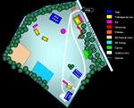 Mapa areálu Battle Kings