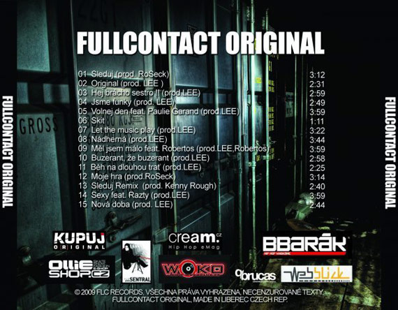 FullContact - Original cover (back)