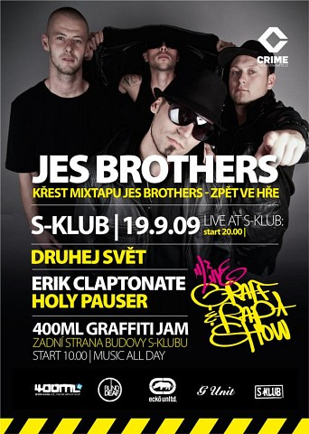 Křest mixtapu Jes Brothers
