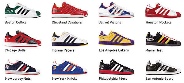 Adidas Superstar NBA series